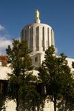 Oregon stanu Capitol kopuła w Salem Uwypukla bryła marmur obraz stock