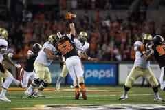 Oregon State Beavers defensive end Sumner Houston Royalty Free Stock Photos