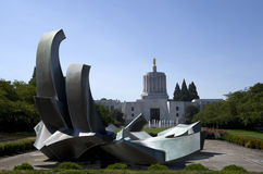 Oregon State Capital Royalty Free Stock Photo