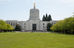 The Oregon State Capitol building. Royalty Free Stock Images