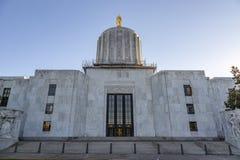 Oregon State Capitol Building in Salem, Oregon stock image