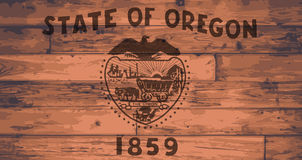 Oregon State Flag Brand Stock Photography