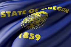 Oregon State flag Royalty Free Stock Photography