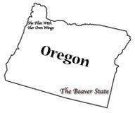 Oregon State Motto and Slogan Royalty Free Stock Photo