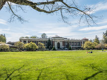 Oregon State University Memorial Union, spring 2016 Royalty Free Stock Photos