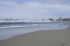 Oregon strand Royaltyfria Bilder