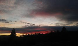 Oregon Sunset Stock Images
