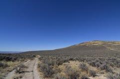 Oregon Trail On Left Heading Northwest Stock Images