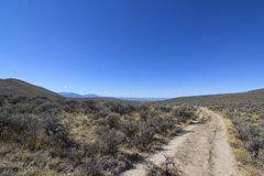 Oregon Trail On Right Heading Northwest Stock Photography