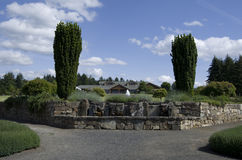Oregon trädgård Royaltyfria Foton