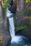Oregon-Umpqua National Forest-Roge-UmpquaScenic Byway-Toketee Falls. This is picture postcard scenery. Stock Images