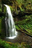 oregon vattenfall royaltyfri foto