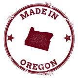 Oregon vector seal. Stock Photo