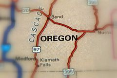 Oregon - Vereinigte Staaten U S Stockfoto