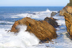 Oregon Waves Royalty Free Stock Photo