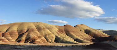 Oregon& X27;s Painted Hills Panoramic Royalty Free Stock Photos