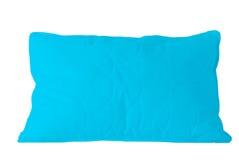 Oreiller bleu Image libre de droits