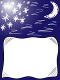 Oreiller de bonne nuit de fond Images stock