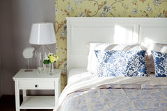 Oreiller de chambre à coucher Image libre de droits