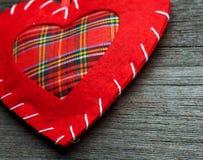 Oreiller de coeur de Saint Valentin Photographie stock libre de droits