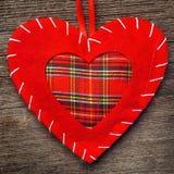 Oreiller de coeur de Saint Valentin Photographie stock