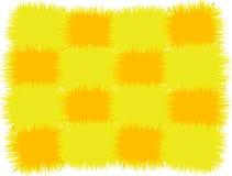 Oreiller jaune Image libre de droits