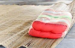 Oreiller thaï traditionnel Image libre de droits