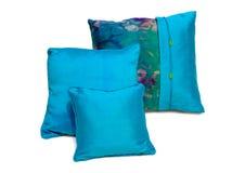Oreillers et caisses en soie d'oreillers photos libres de droits