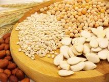 Oreilles de pois d'avoine de blé Photographie stock libre de droits