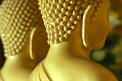Oreilles du Bouddha dans le temple Photo stock
