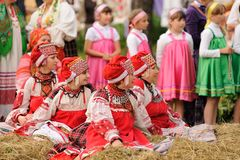 Orel Rosja, Czerwiec, - 19, 2015: Orlovskaya Mozaika muzyczny fest: ty Obraz Royalty Free