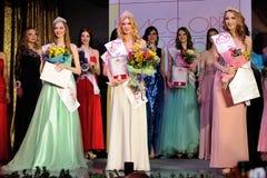 Orel Rosja, Grudzień, - 20, 2015: Chybienie Orel piękna 2015 konkurs Zdjęcia Royalty Free