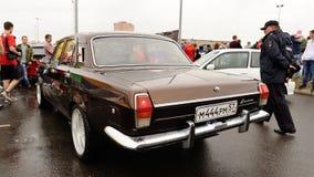 Orel, Rosja, Lipiec 22, 2017: Dynamica samochodu festiwal Stary retro W ten sposób Fotografia Royalty Free