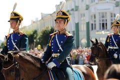 Orel Rosja, Sierpień, - 05, 2016: Orel miasta dzień Koński strażnik w mi Obrazy Royalty Free