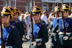 Orel Rosja, Sierpień, - 05, 2016: Orel miasta dzień Prezydenta reżim Zdjęcie Stock