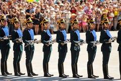 Orel Rosja, Sierpień, - 05, 2016: Orel miasta dzień Prezydenta reżim Fotografia Stock
