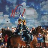Orel Rosja, Sierpień, - 05, 2016: Orel miasta dzień Prezydenta reżim Obrazy Stock