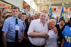 Orel Rosja, Sierpień, - 05, 2016: Orel miasta dzień Vladimir Zhirinov Zdjęcia Stock