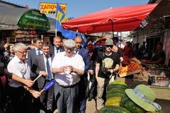 Orel Rosja, Sierpień, - 05, 2016: Orel miasta dzień Vladimir Zhirinov Fotografia Stock