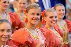 Orel, Rosja, Sierpień 4, 2015: Orlovskaya Mozaika ludowy festiwal, Zdjęcia Royalty Free