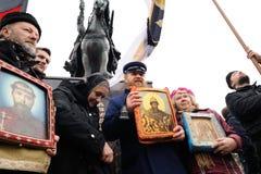 Orel, Rusia - 14 de octubre de 2016: Ivan el monumento terrible abierto Fotografía de archivo