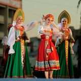 Orel, Russia, August 4, 2015: Orlovskaya Mozaika folk festival, Stock Photography