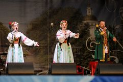 Orel, Russia, August 4, 2015: Orlovskaya Mozaika folk festival, Royalty Free Stock Photography