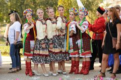 Orel, Russia, August 4, 2015: Orlovskaya Mozaika folk festival, Stock Photos