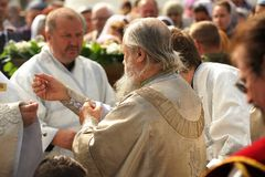 Orel, Russia - September 13, 2015: Orthodox Church Family Day. R Stock Photo