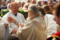 Orel, Russia - September 13, 2015: Orthodox Church Family Day. R Stock Photo