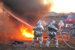 Orel, Russie - 9 décembre 2015 : Ministère de contrôle de secours (MC Photos stock