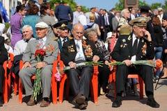 Orel, Russie - 9 mai 2016 : Célébration de 71th anniversaire de t Image stock