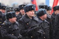 Orel, Russland - 18. März 2016: Im zweitem Jahr Jahrestag von Krim Lizenzfreie Stockfotografie