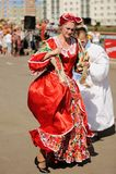 Orel Ryssland, Augusti 01, 2015: Mumu Fest, Turgenevs berättelsekonst-f Royaltyfri Bild